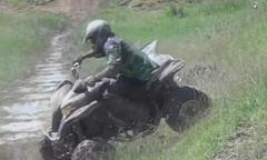 extremely lucky atv rider in huge save [video]