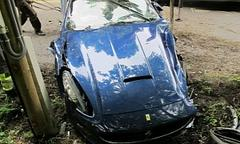 Ferrari California Totalled by NHL Star Jakub Voracek in Czech Republic [Photo Gallery]
