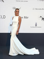 ok! look of the day: sharon stone at amfar's 20th annual gala