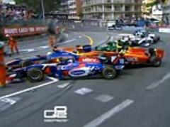 Monaco Grand Prix 2013: Monte Carlo mayhem after first-corner GP2 crash