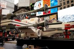A Massive Star Wars Lego X-Wing Has Landed In Times Square [PHOTOS]