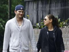 ashton kutcher and mila kunis are ready for the pitter patter of little feet