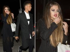 Selena Gomez Steps Out With Jaden Smith in London