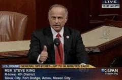 gop rep. steve king: reagan's amnesty act 'brought about' obama's election, 'wouldn't be pres.' without it