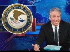 Jon Stewart Tears Apart Obama, DOJ For Prosecuting Whistleblowers And Potheads But Not Bankers