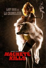 lady gaga gets flirty in 'machete kills' leaked trailer