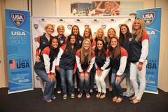 with laguna center, usa water polo takes on canada today