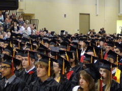 bhs seniors get ready for may 31 graduation at niu
