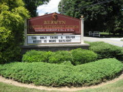 Berwyn Church Collects Computer Equipment