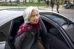 IMF chief grilled for second day over payout scandal