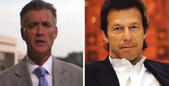 US Ambassador Richard Olson visits Imran Khan to observe priorities