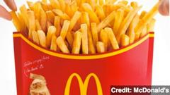 mcdonald's offers ludicrous 'mega potato' french fries
